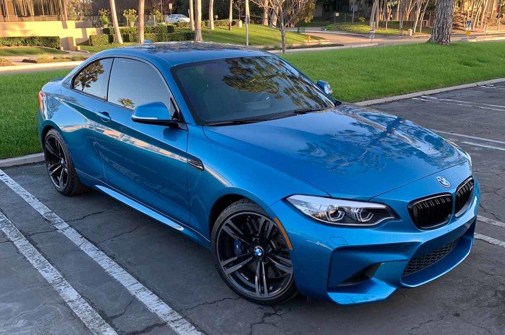 BMW Clear Bra