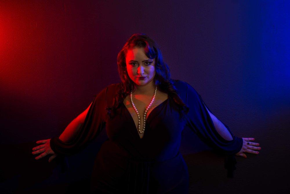 Copy of intense cabaret lighting