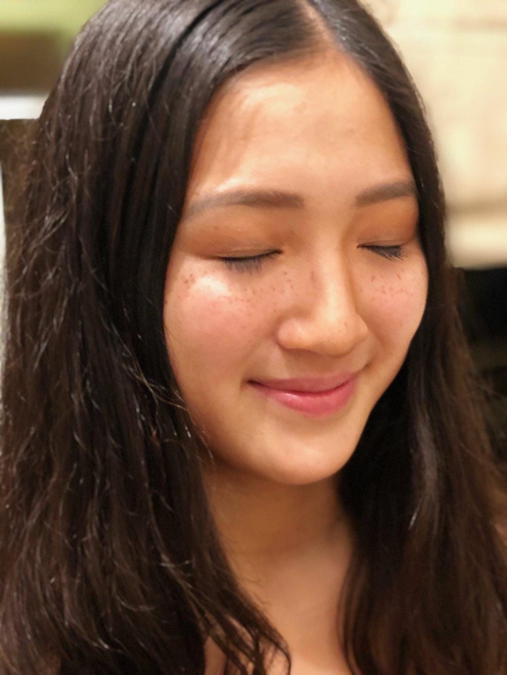 Young natural makeup