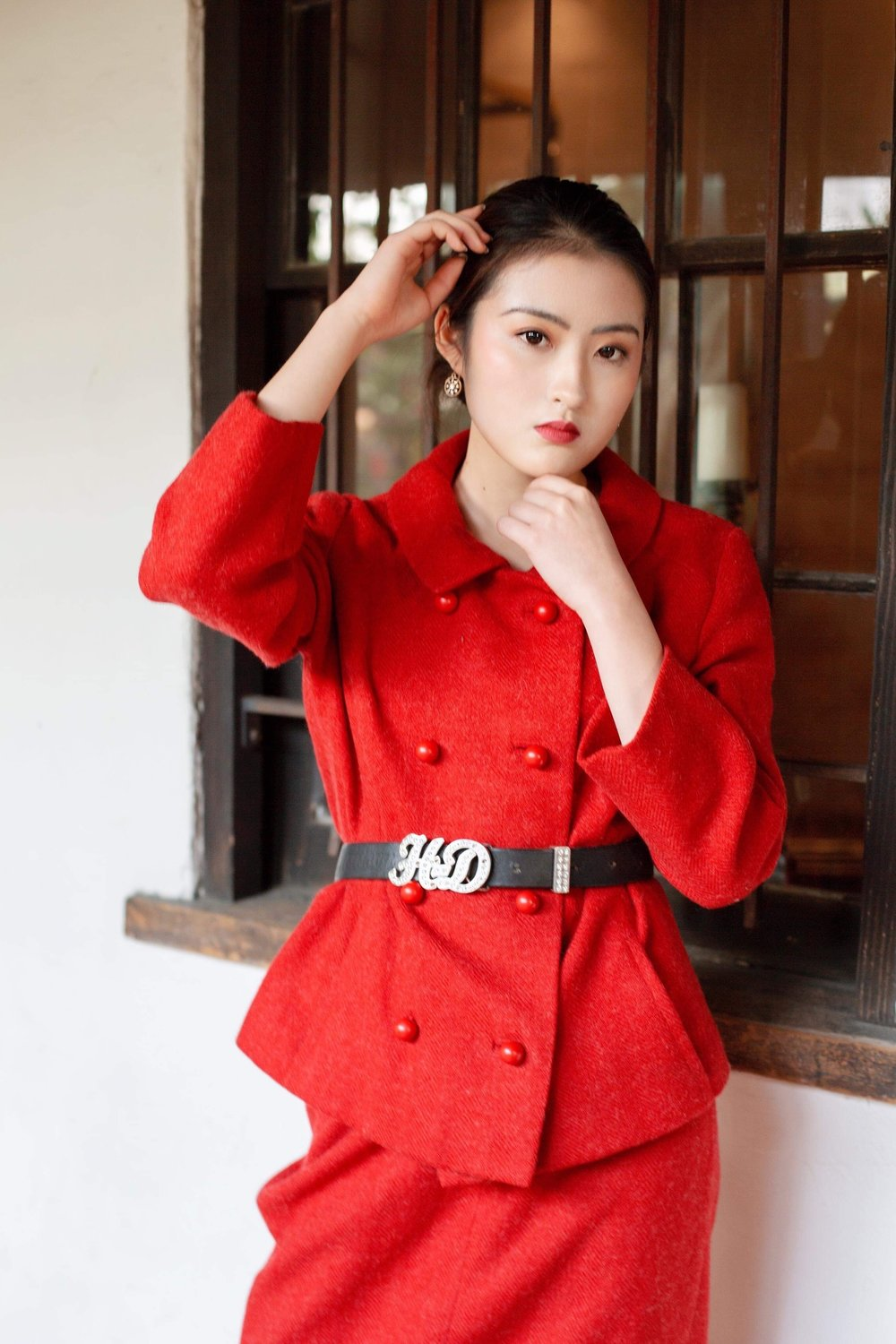 Copy of traditional chinese shoot