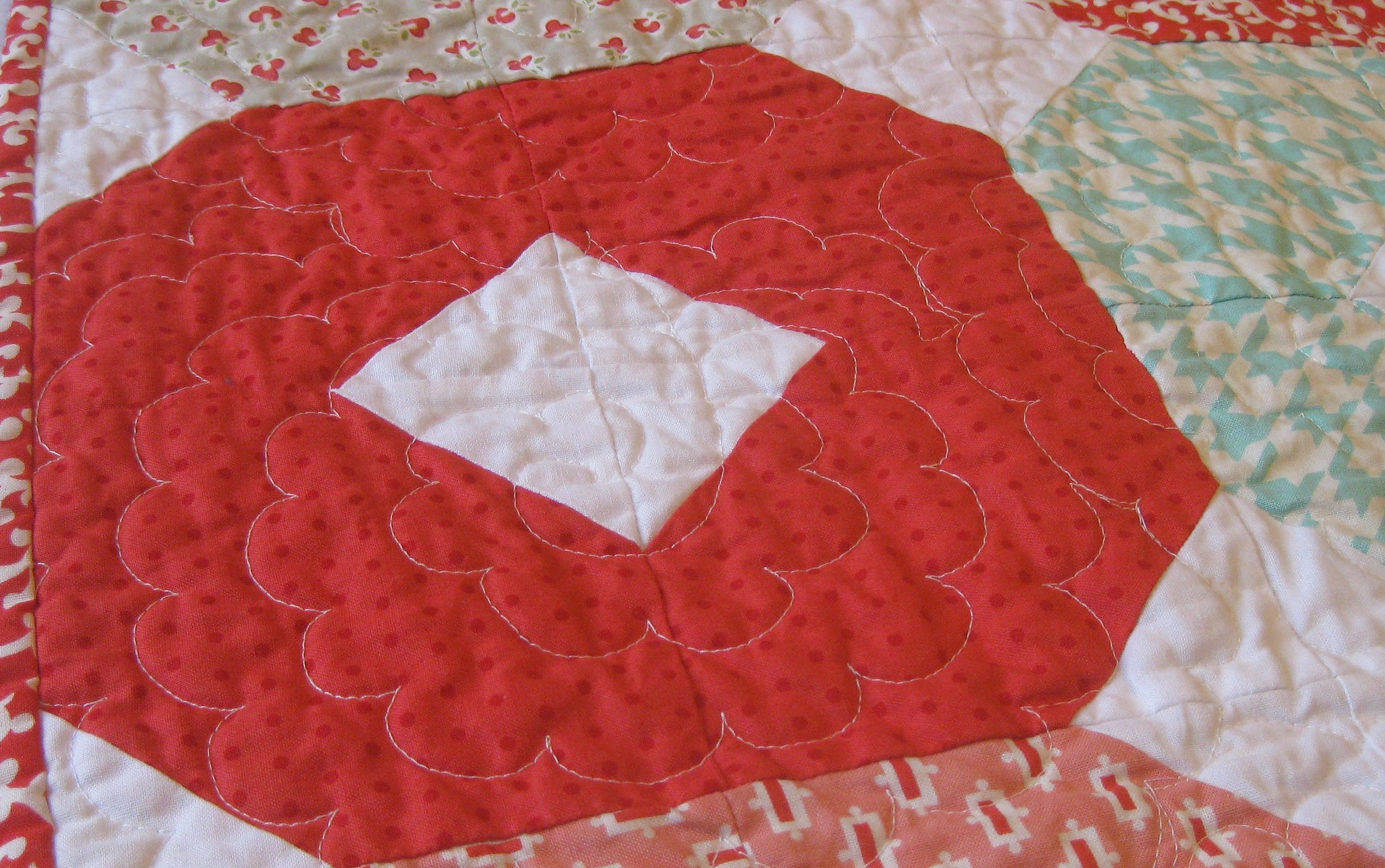 after wash quilting