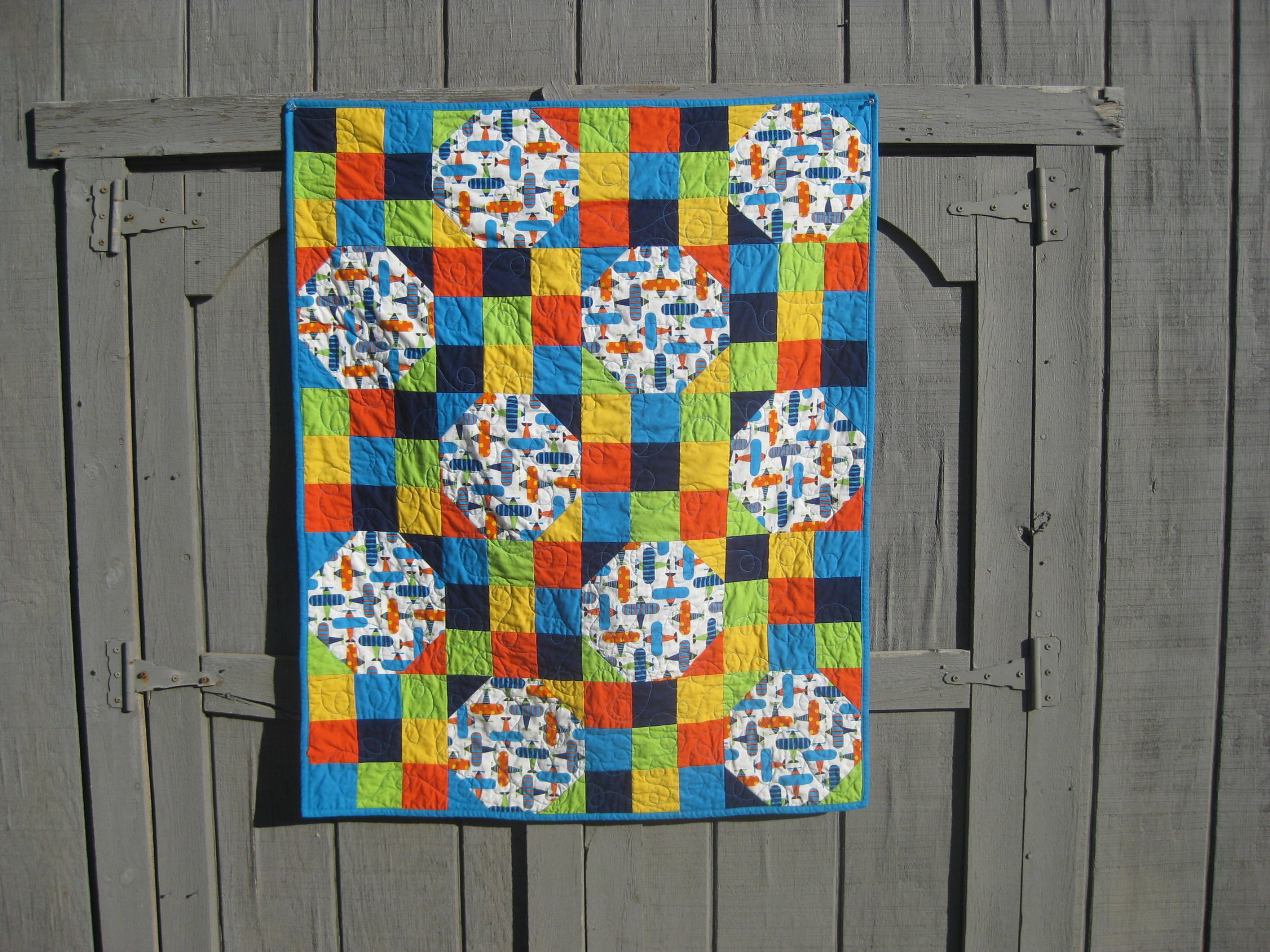 Baby cox quilt