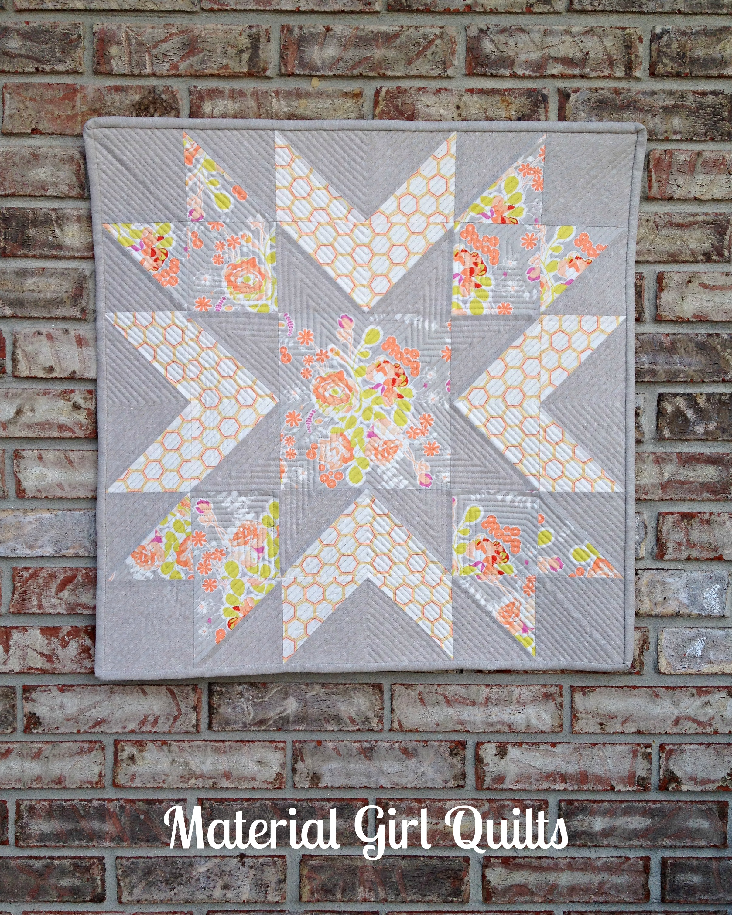 Starflower quilt cover