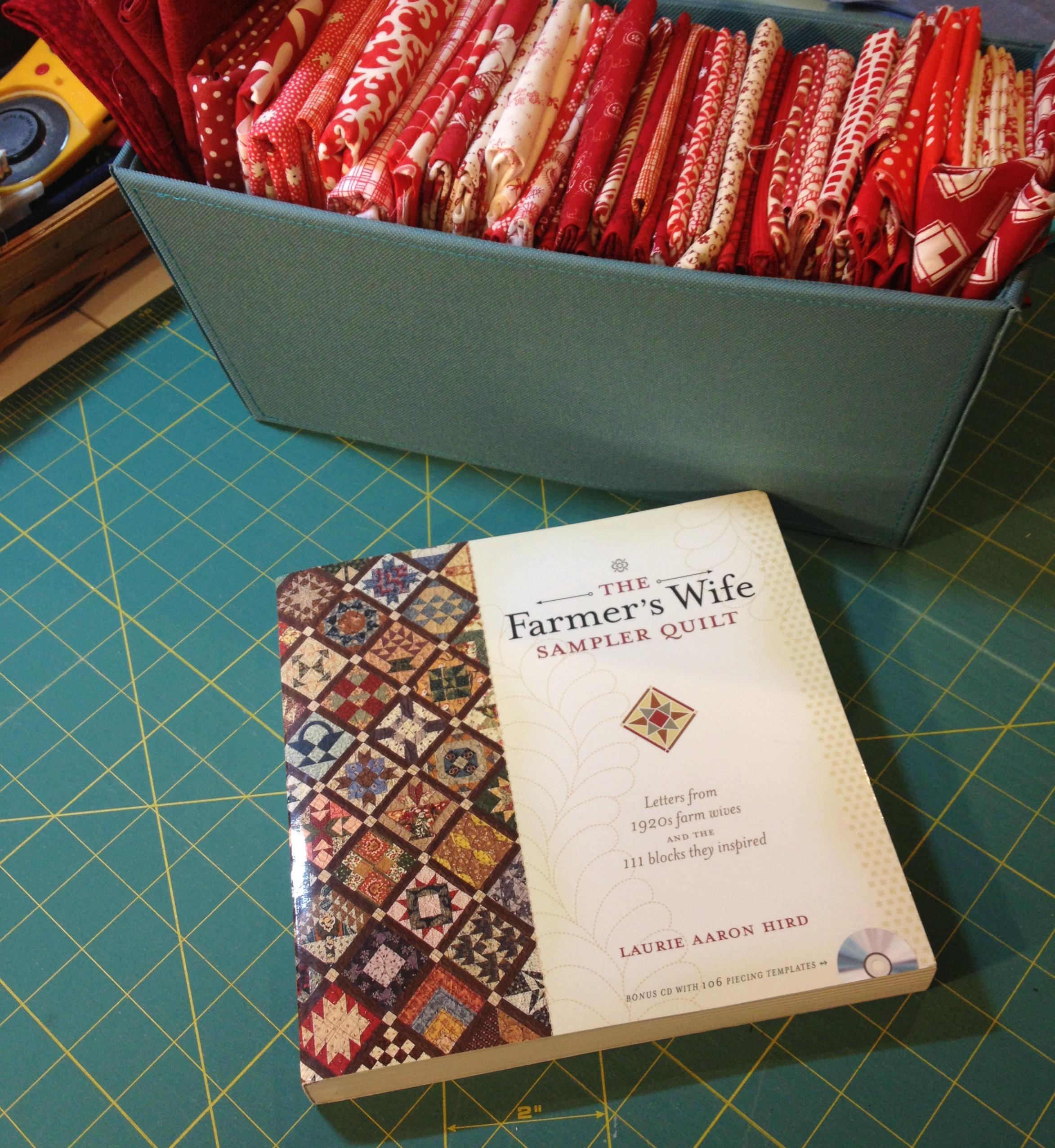 farmer's wife book and stash