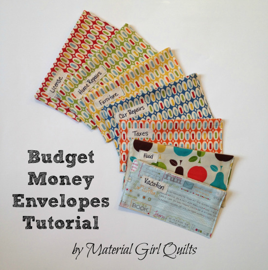 DIY Budget Money Envelope Tutorial