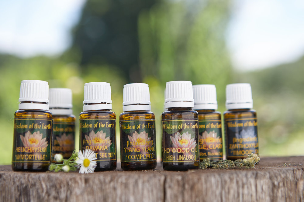 I use only Wisdom of the Earth essential oils because they have the highest quality and integrity that I have found. -