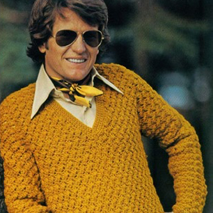 C.J. liked to get gussied up sometimes. Photo circa early 1970s, during his brief stint as a catalog model.