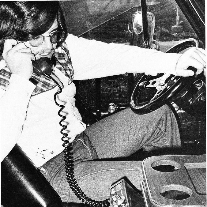 C.J. phoning it in, mid-70s.