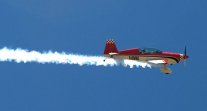 Extra 300 - Extra's aerobatic light aircraft were designed from the outset for unlimited aerobatic competition flying.