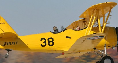 N3N - The N3N was the last biplane to see service with the United States. Built by the Naval Air Factory, a Navy-run manufacturing complex, it was produced to replace the Consolidated NY-2s and -3s operated in the 1920s. The N3N would be the last mass-produced aircraft built by the Naval Air Factory.