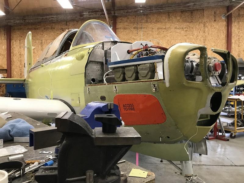 warbird aircraft maintenance