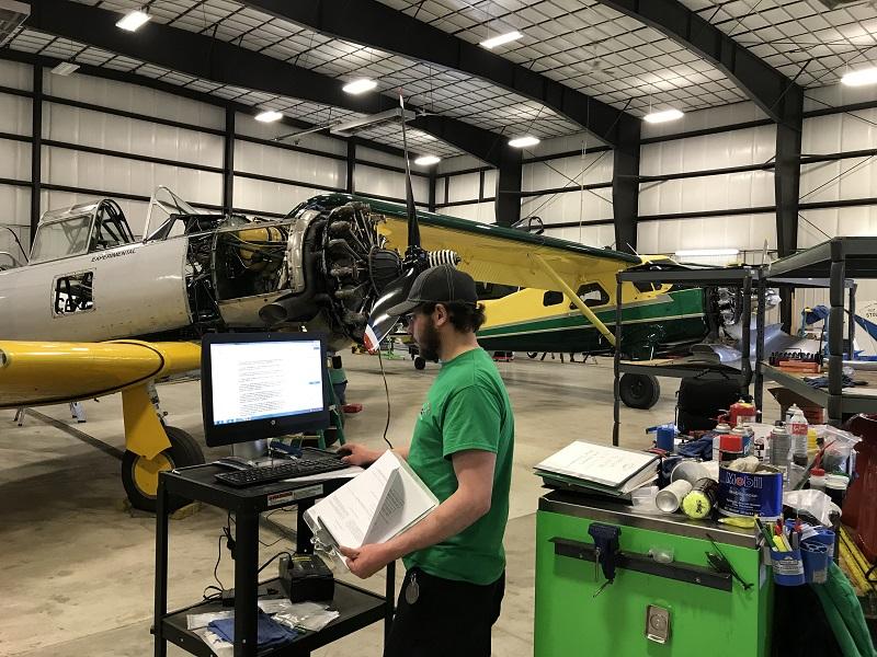driggs airport aircraft maintenance