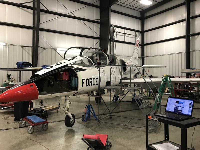 jet warbird aircraft maintenance