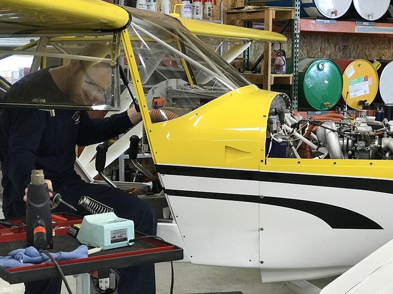 husky aircraft maintenance