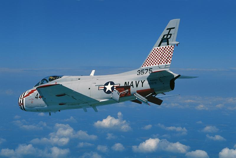 FJ-4 Fury driggs airport fbo