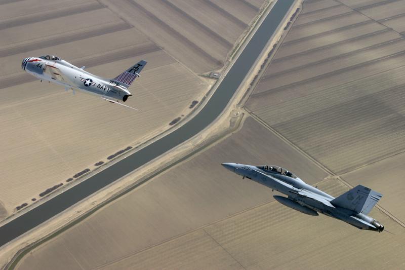 FJ-4 Fury jets