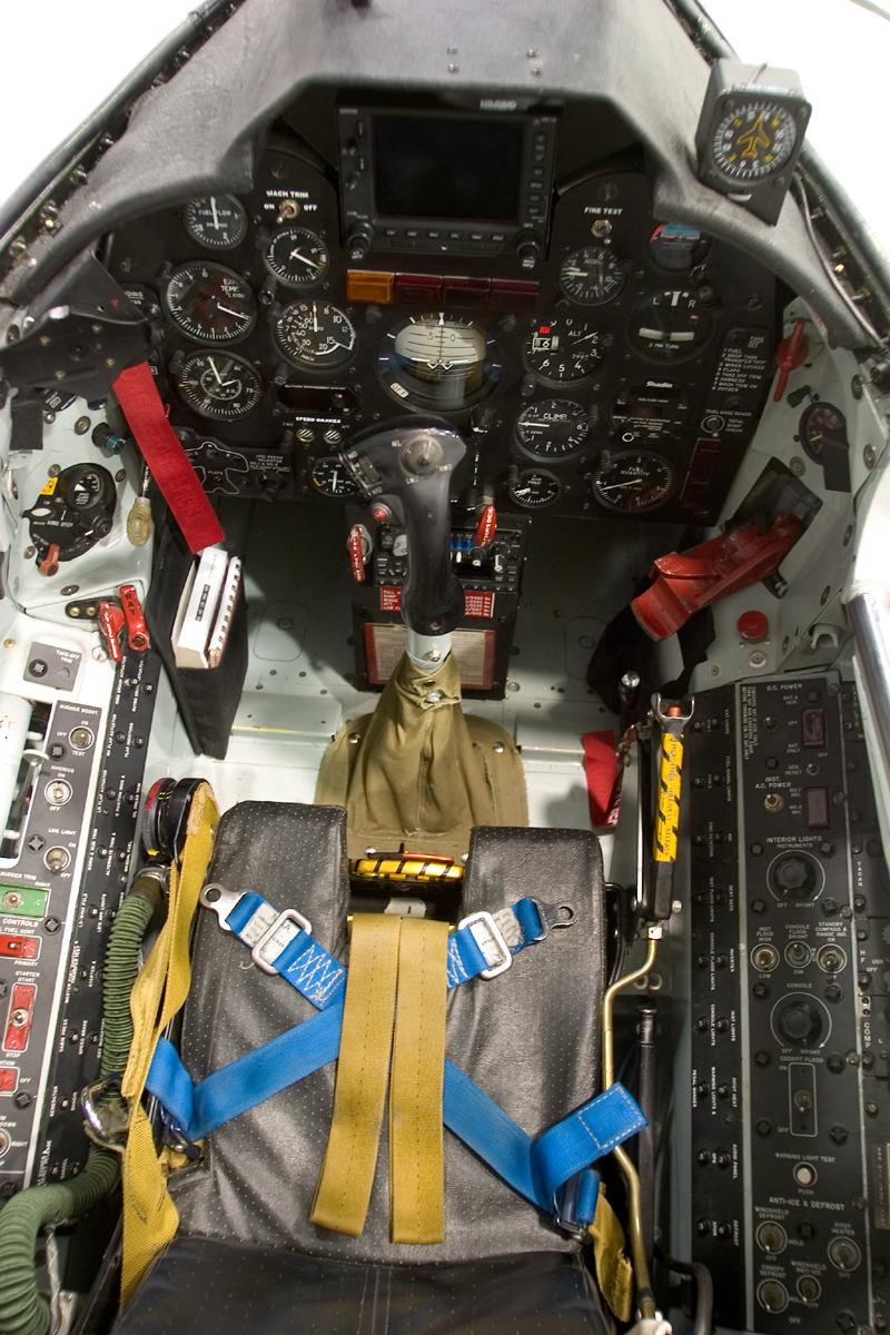 North American FJ-4 Fury cockpit seat