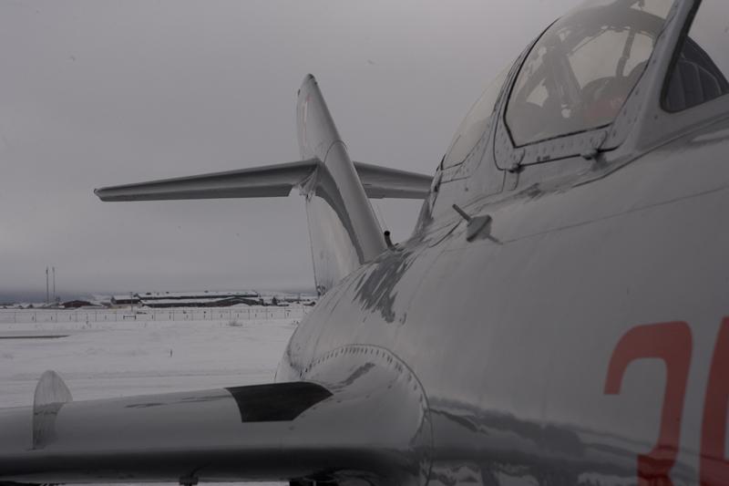 Mikoyan-Gurevich MiG-15 close up