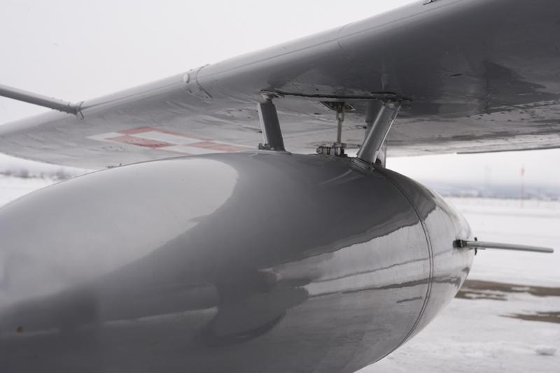 Mikoyan-Gurevich MiG-15 wing closeup
