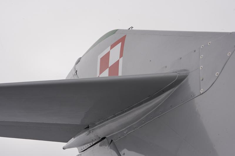 Mikoyan-Gurevich MiG-15 tail close up