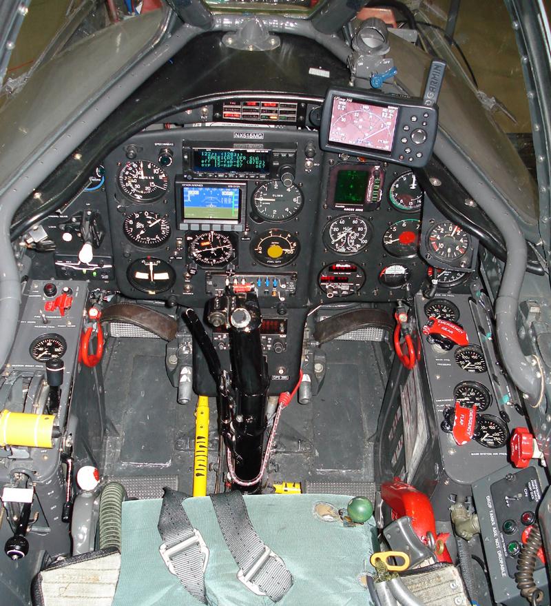 Mikoyan-Gurevich MiG-15 cockpit view