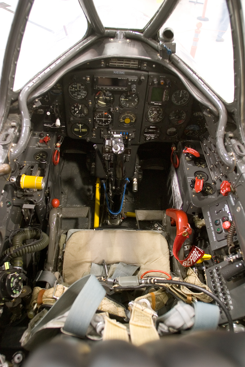 Mikoyan-Gurevich MiG-15 seat and cockpit