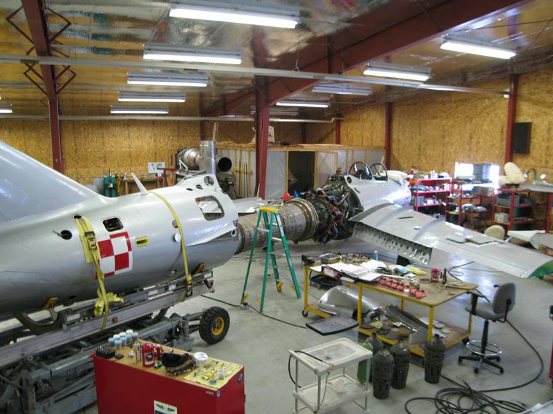 Mikoyan-Gurevich MiG-15 restoration