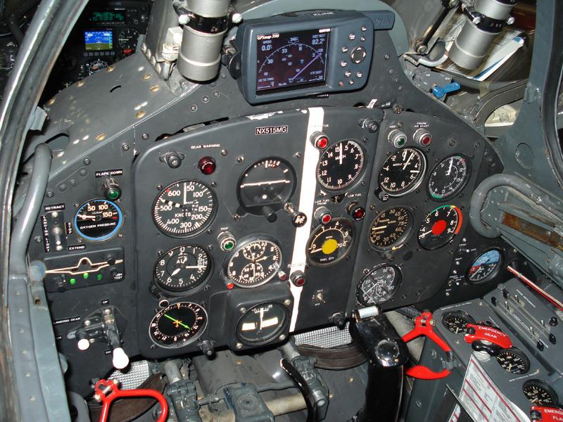 Mikoyan-Gurevich MiG-15 cockpit closeup