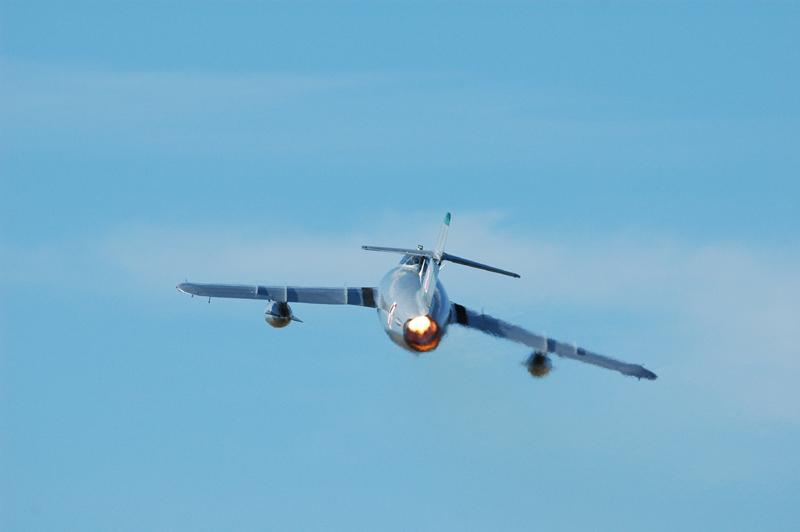 Mikoyan-Gurevich MiG-17 after burner