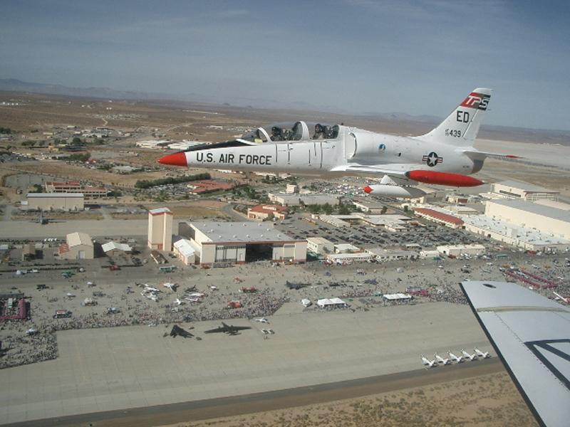 Aero L-39 Albatros over airshow