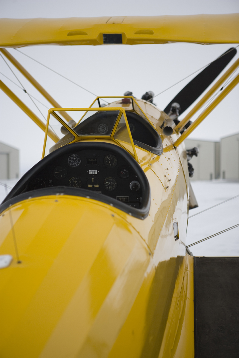 Naval Aircraft Factory N3N biplane two seater
