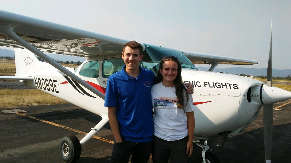 First Solo! - Emery Rheam made her first solo flight in N8089E August 2018. Her instructor was Isaac Slepian. Nice Job!