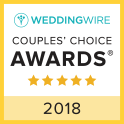 Wedding Wire 2018 Couples' Choice Awards