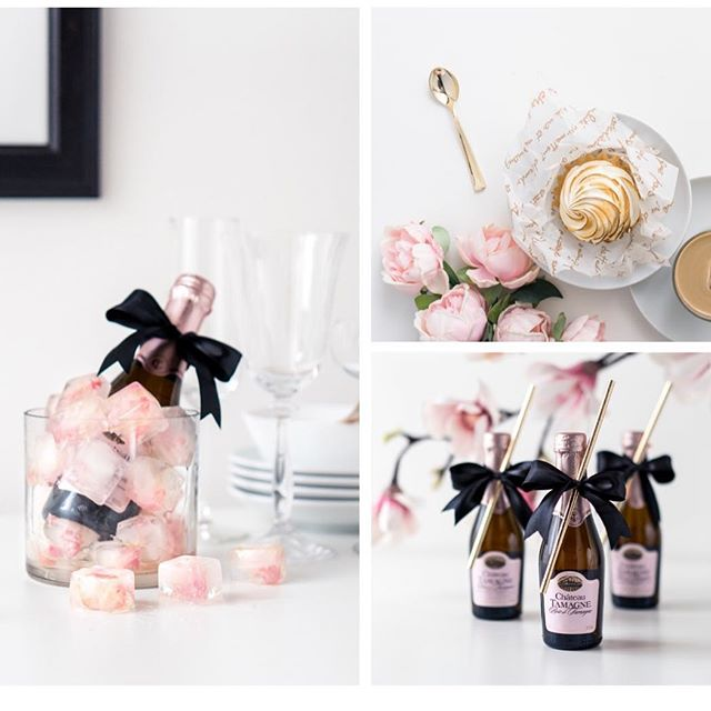 Fun details always give a party a PUNCH! 👊🏻👊🏻👊🏻 Think of what you might add to your next gathering, may it be a spring brunch or bridal shower!  #partydetails #champagne #pinkandblack #partyplanner #cheerstolife #bridalshower #forthegirls #bubbles #weddingplanner #sandpointweddings #littledetailsmatter #springparty