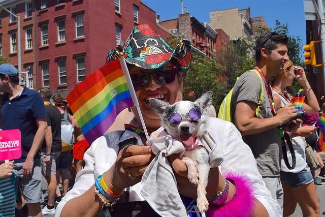 Gay pride celebration