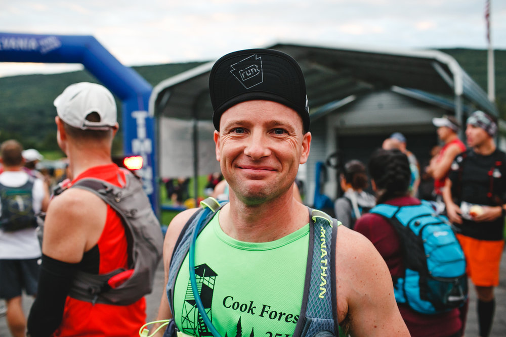 Bob Bauer, RD of the Cook Forest Trail Challenge