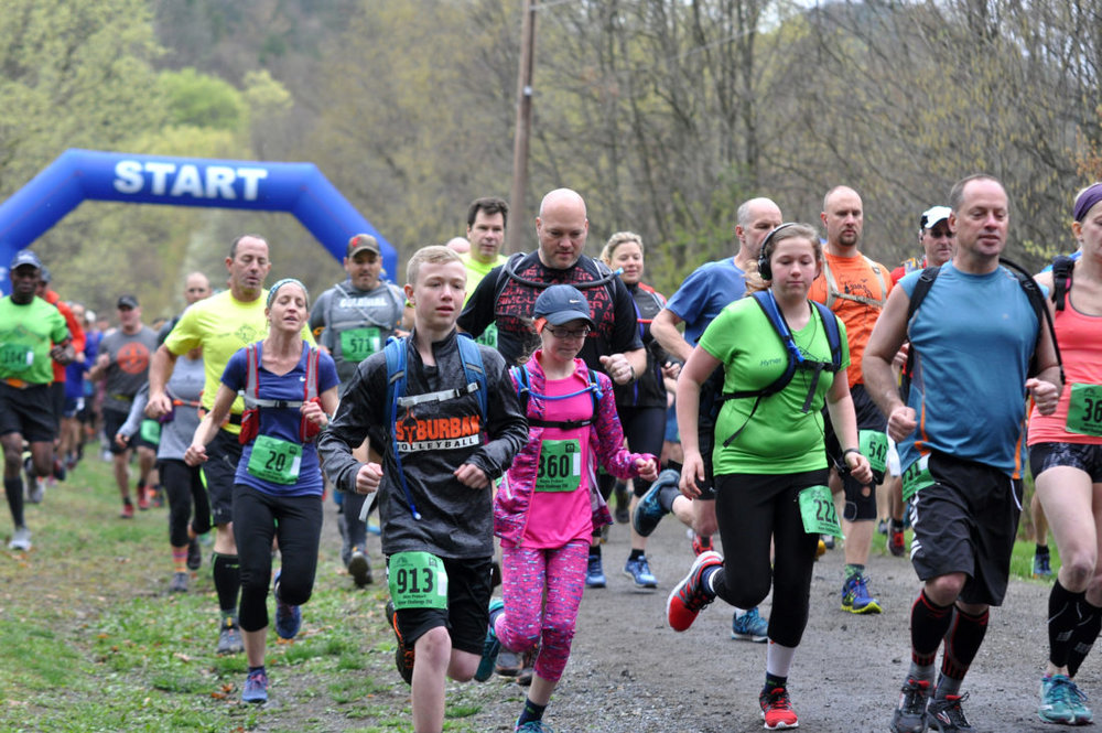 THE EXPRESS  TIME TO RUN: 11th annual Hyner Run Challenge remains a success