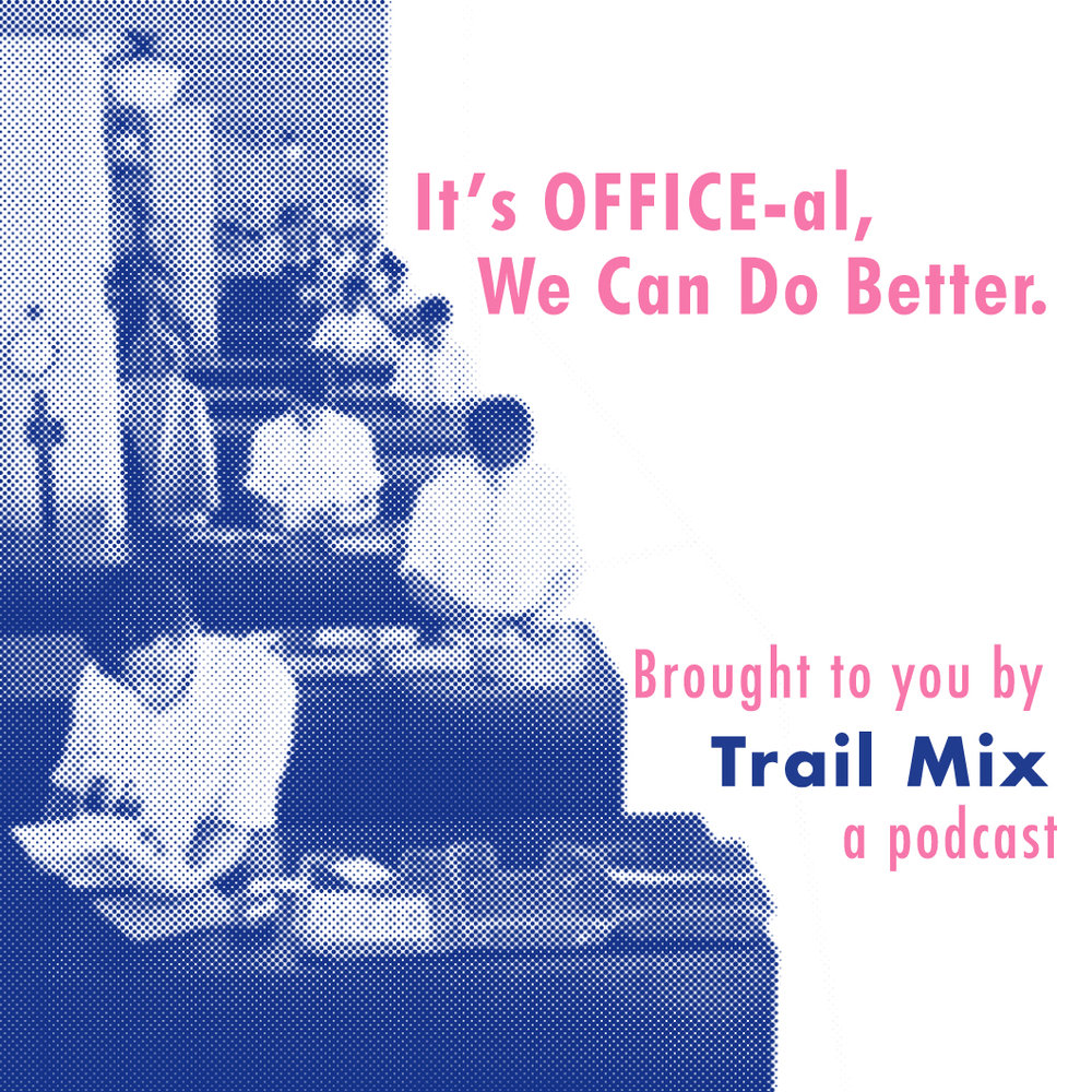 It's OFFICE-al, We Can Do Better - During It's OFFICE-al, We Can Do Better, Ep.7 of Trail Mix, Sophie and George discuss office waste. They explain how to initiate a change in an office building, steps to a sustainable workspace, statistics about office worker's current waste production, and what can happen if we take initiative. The sustainable life tip is about unsubscribing from print mail, and the Trail Mixer Q&A is about socks. Please subscribe, rate & review, and SHARE!