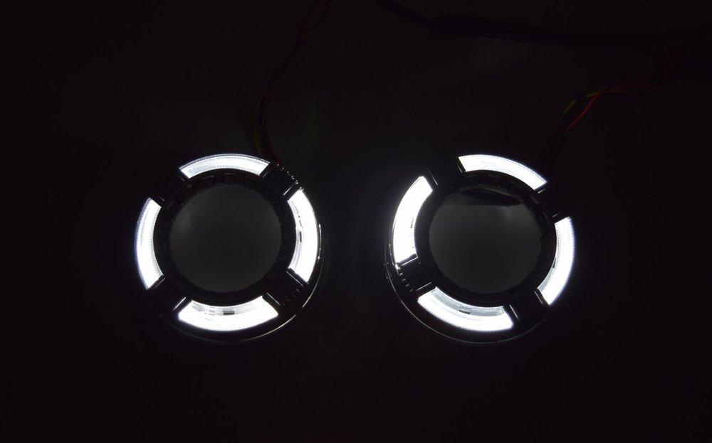 Quadrod Switchback LED White