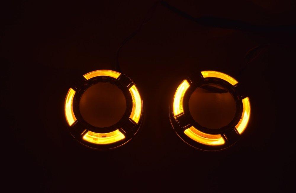 Quadrod Switchback LED Amber