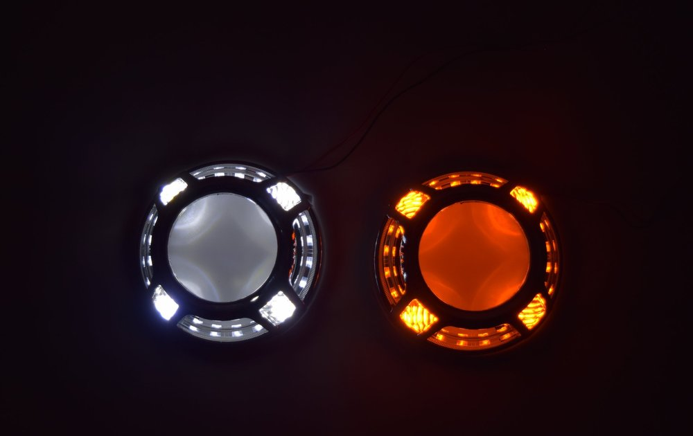 Panamera Switchback LED 2.0 White and Amber