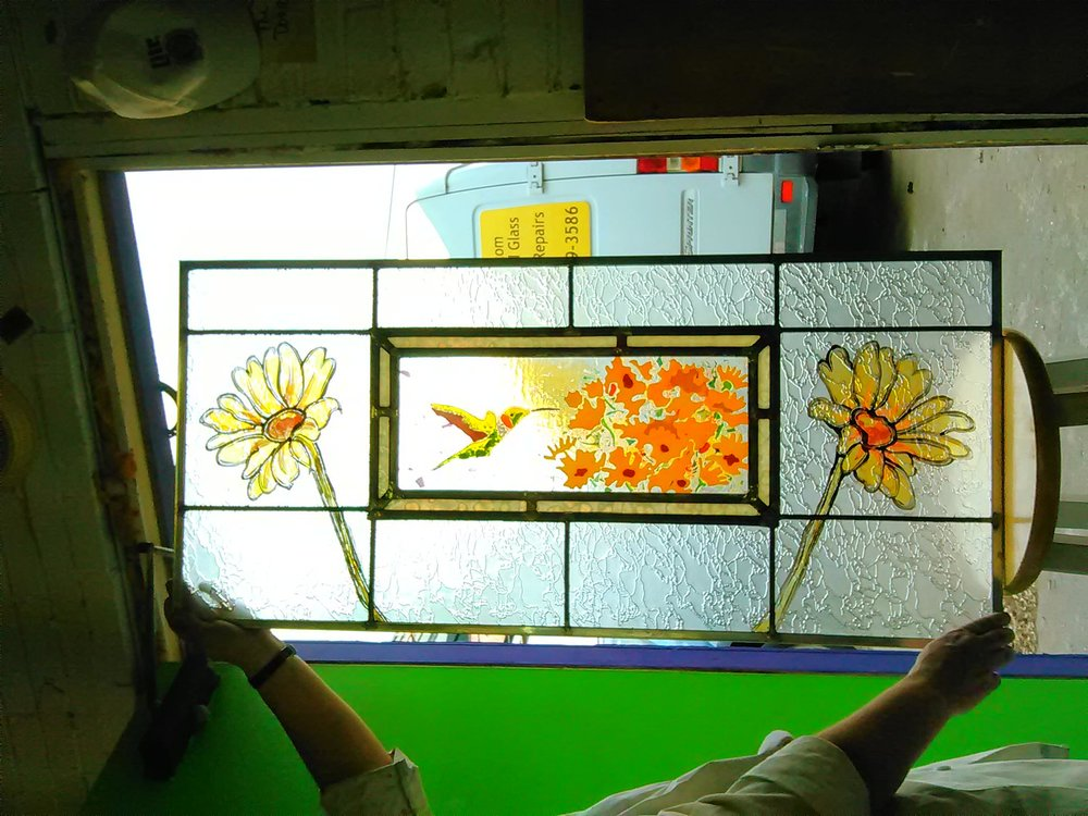 our craft - We offer many medias within the field of stained glass and are enthusiastic about manipulating them in such a way that the customer's vision is realized. Explore our PORTFOLIO