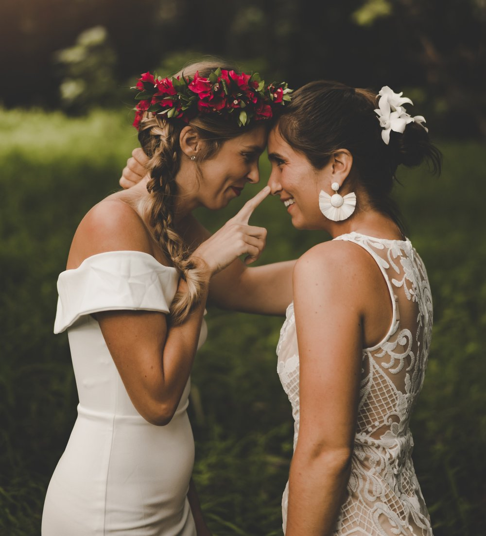 LGBTQ Wedding and Elopement  photographer in Hawaii