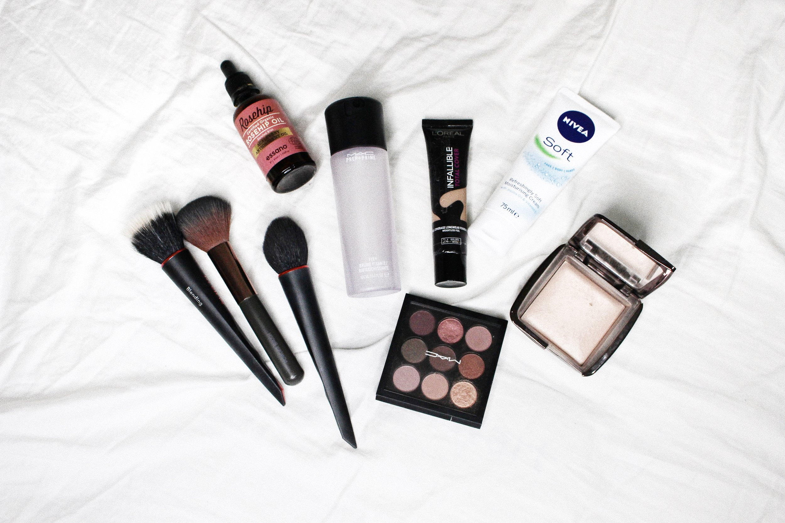 beauty habits loreal mac cosmetics revlon