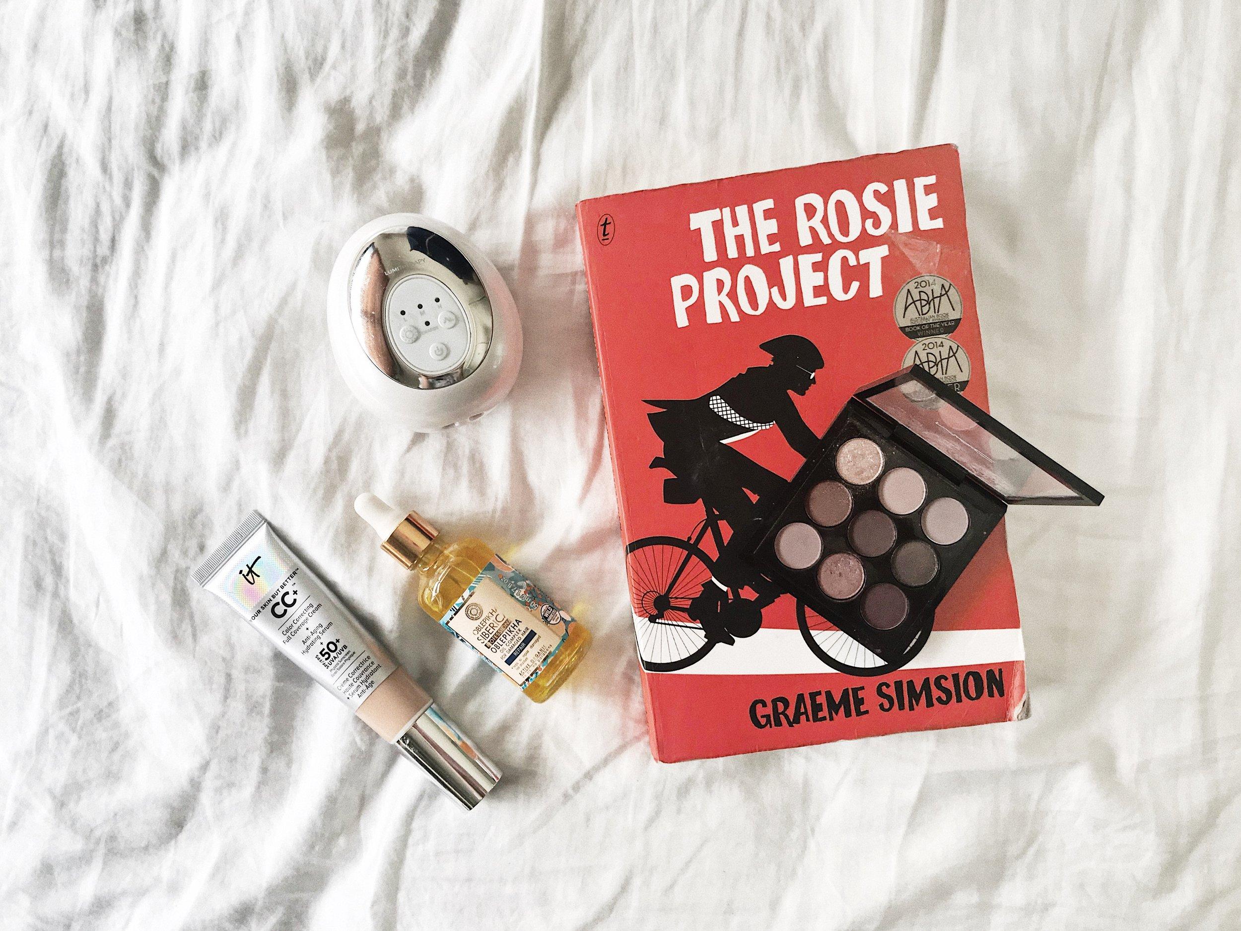 the rosie project it cosmetics mac burgundy times nine