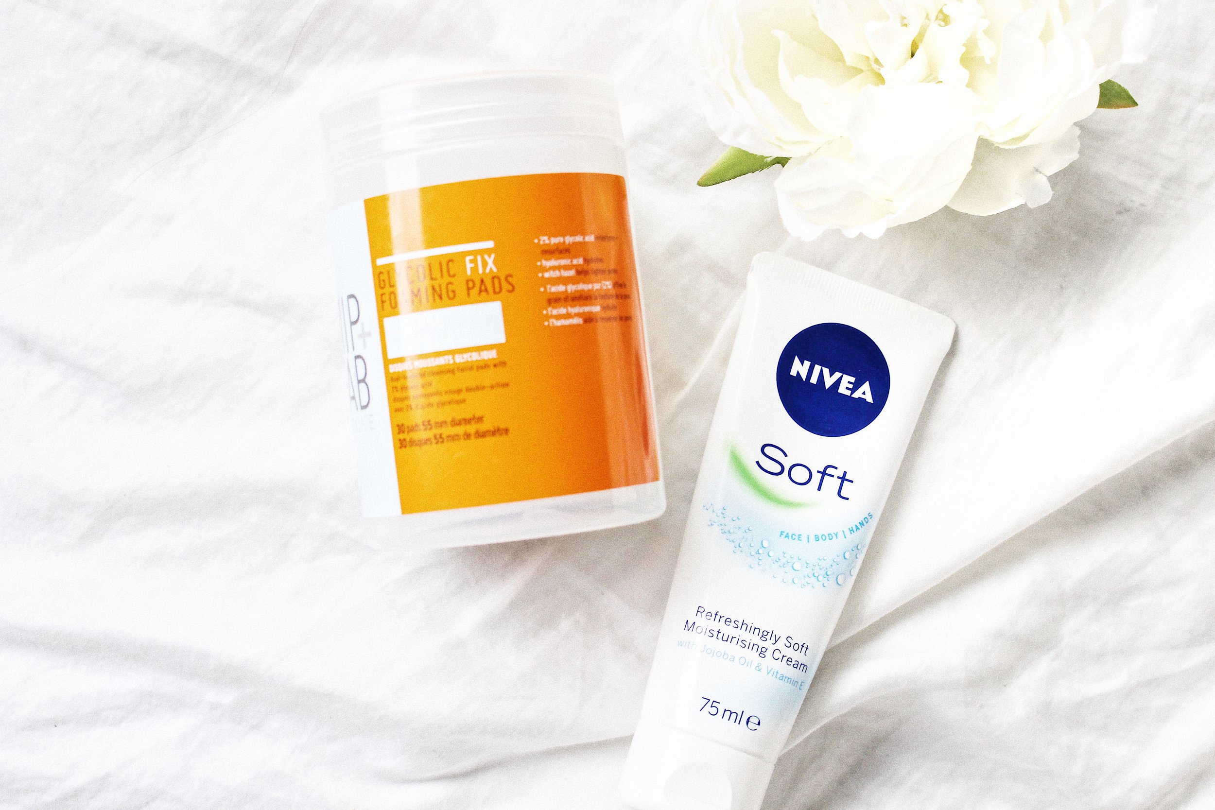 nip and fab exfoliating pads nivea soft