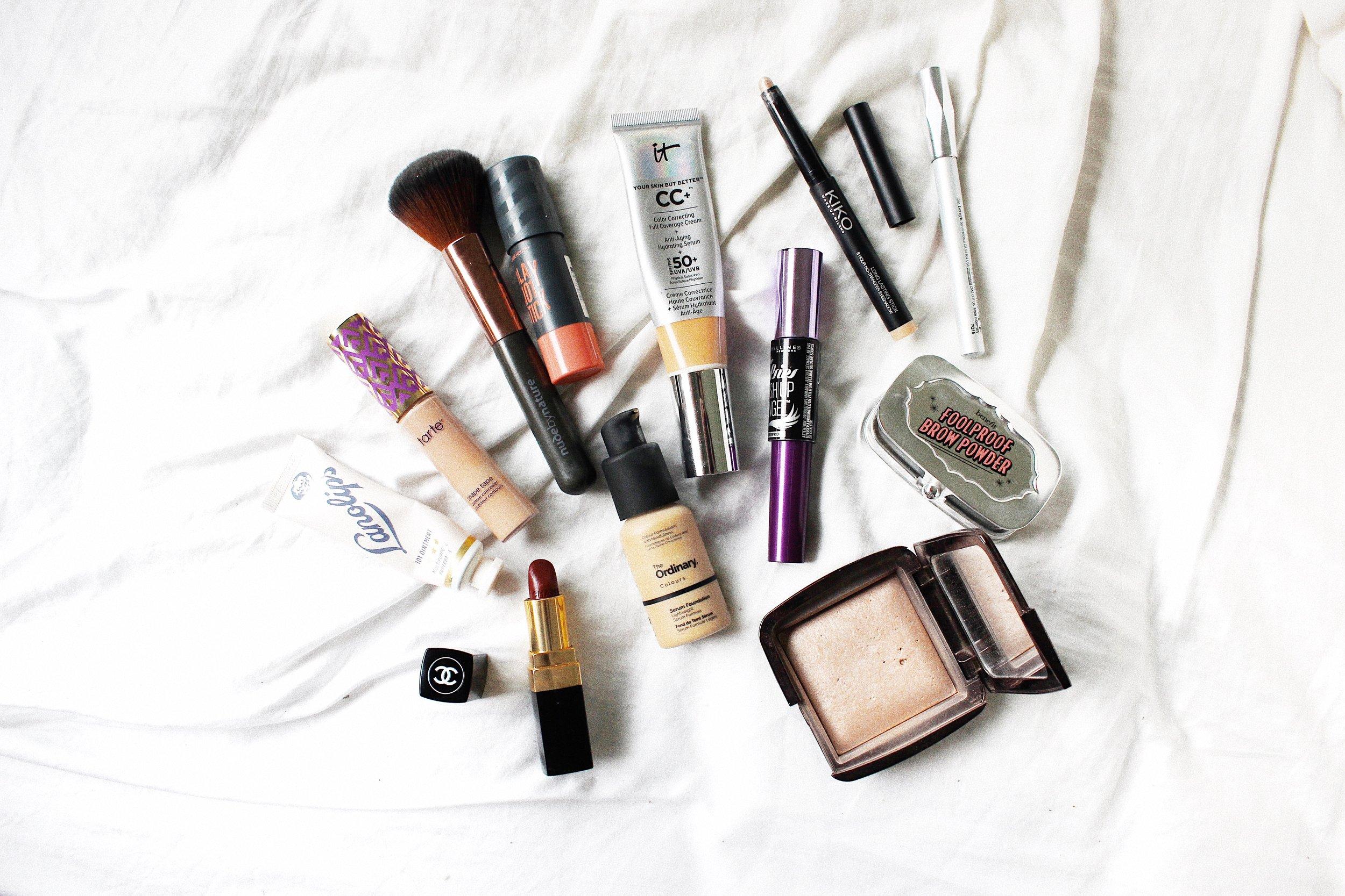 glossier makeup look
