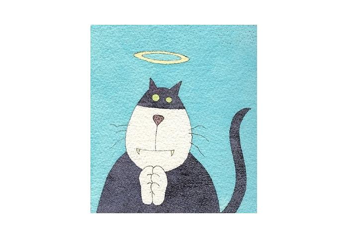 Saintly Cat