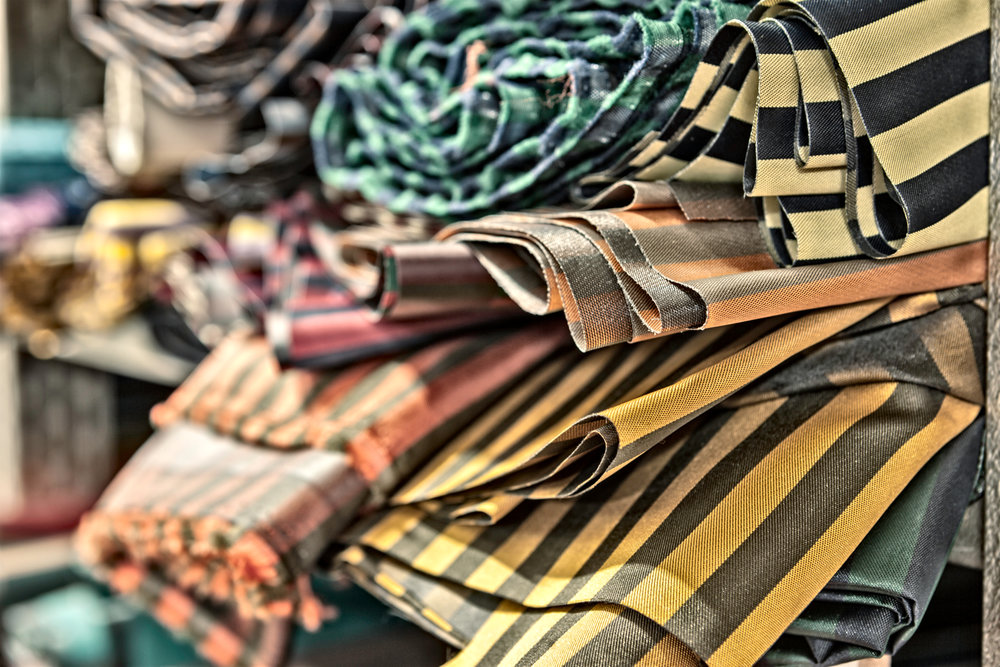 Beautiful striped twills in stock.  Photo credit: LucaPradella