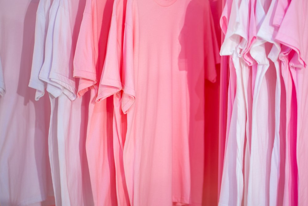 Fancy a particular shade of pink for each day of the week? The wonders of modern technology.  Photo Credit: @JasonLeung